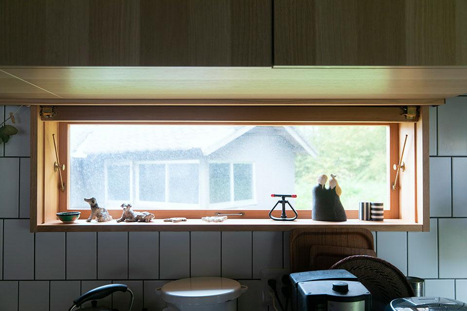 料理も趣味だという恒平さんはキッチン周りにも並並ならぬ情熱を傾けています。