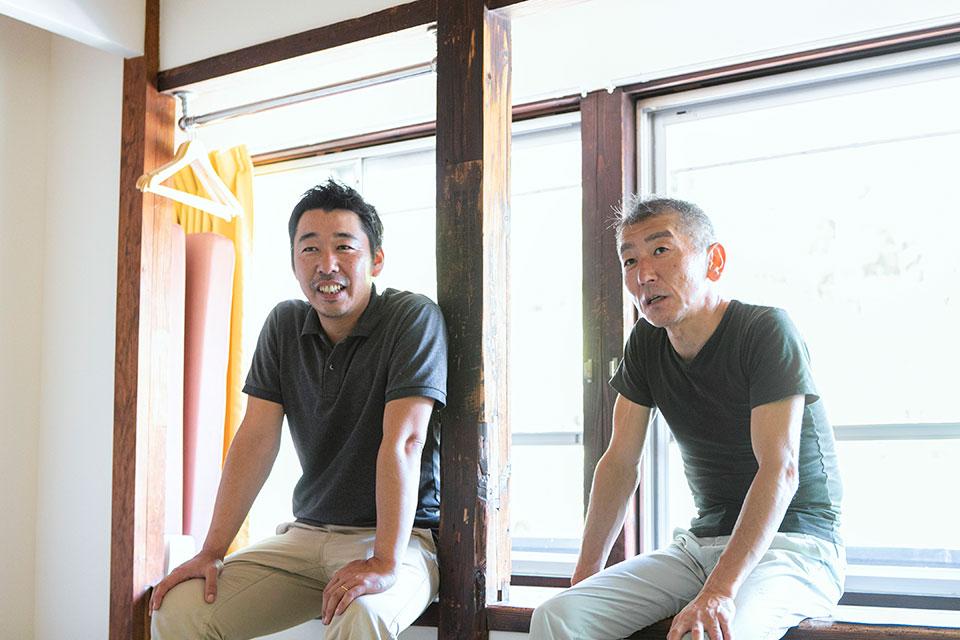 「さいとう宿場」を里山建築が手掛けるようになったのは、齋藤さん夫妻と賢太さんとの出会いがきっかけでした。