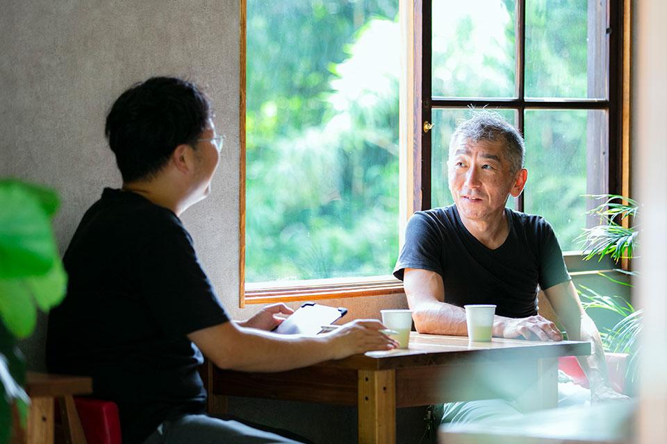 東京から移住し、この土地で暮らした年月は浅い中、やはり頼れる存在だったというのは大きかった。