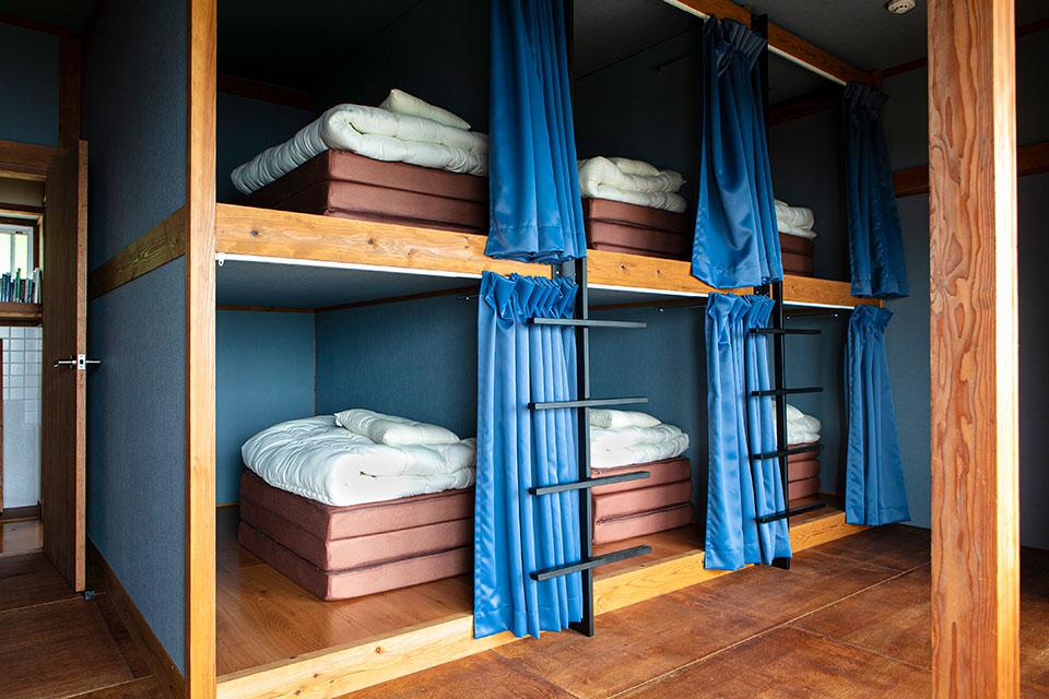 さいとう宿場 ドミトリー部分のベッドルーム